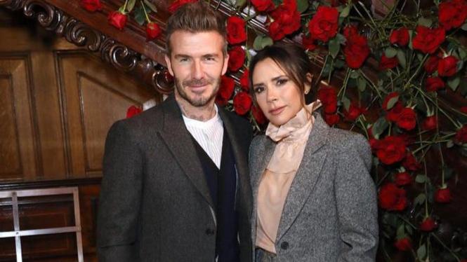 David Beckham dan Victoria Beckham.