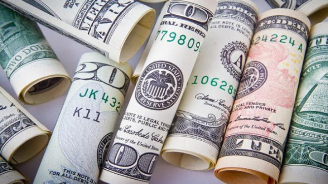 Ilustrasi dolar.