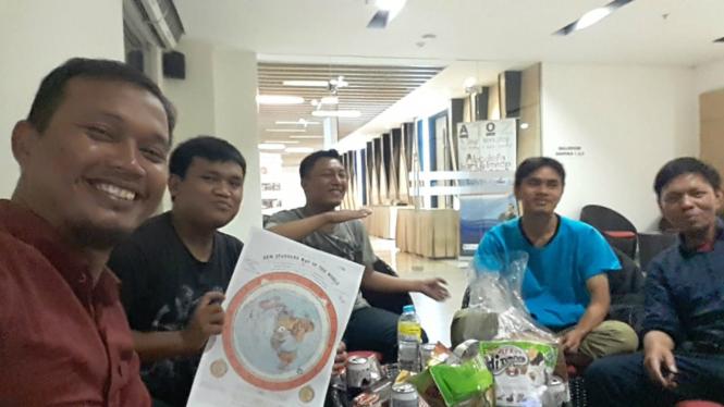 Pertemuan Komunitas Bumi Datar Indonesia