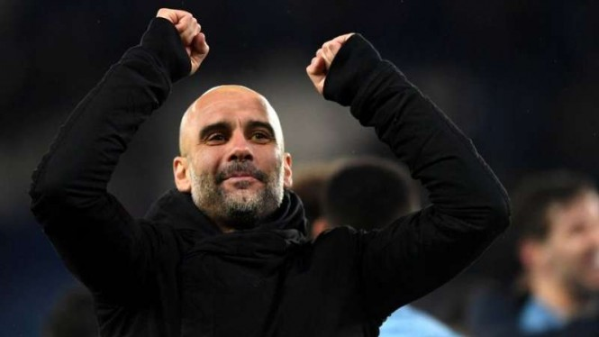 Manajer Manchester City, Pep Guardiola.