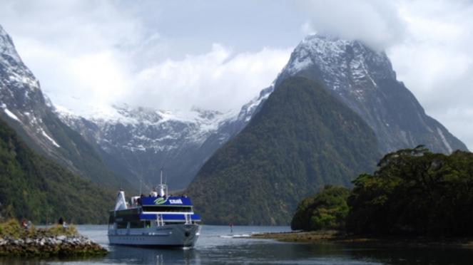 Milford Sound, Selandia Baru.