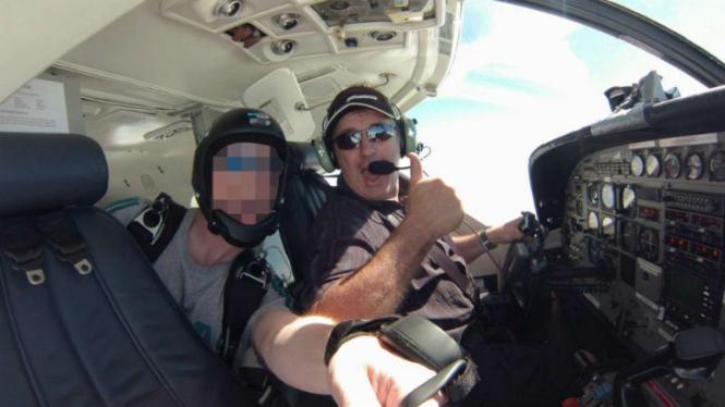 Pilot pesawat yang ditumpangi Emiliano Sala, David Ibbotson