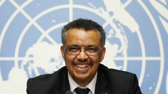 Dr. Tedros Adhanom, General Director WHO