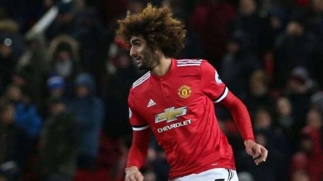Gelandang Manchester United, Marouane Fellaini