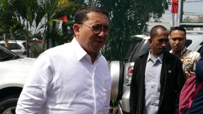 Dewan Pengarah BPN Prabowo-Sandi, Fadli Zon.