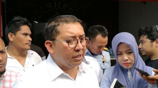 Wakil Ketua DPR RI Fadli Zon di Rutan Cipinang