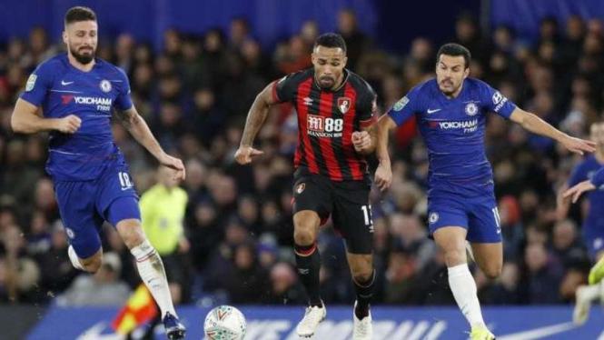 Laga Chelsea kontra AFC Bournemouth