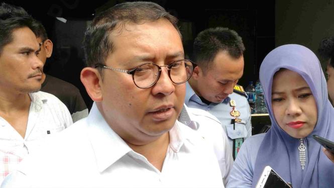 Wakil Ketua DPR Fadli Zon.