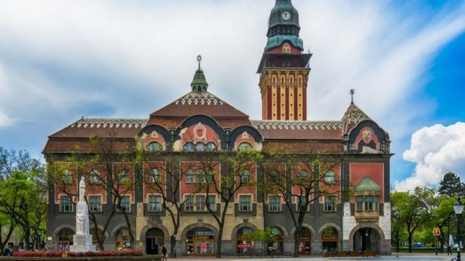 Subotica, Serbia.