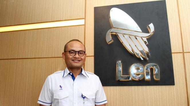 Zakky Gamal Yasin Presdir PT Len Industri