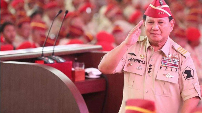 Capres nomor urut 02, Prabowo Subianto