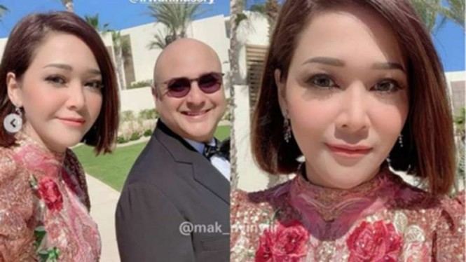 Intip Liburan Mewah Maia Estianty Bareng Suami Ke Meksiko