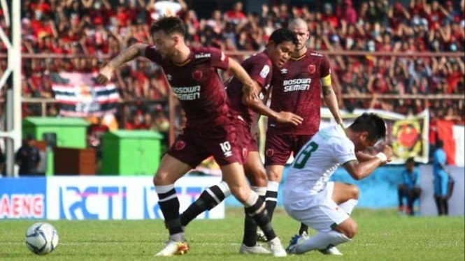 Pertandingan PSM Makassar vs Kalteng Putra
