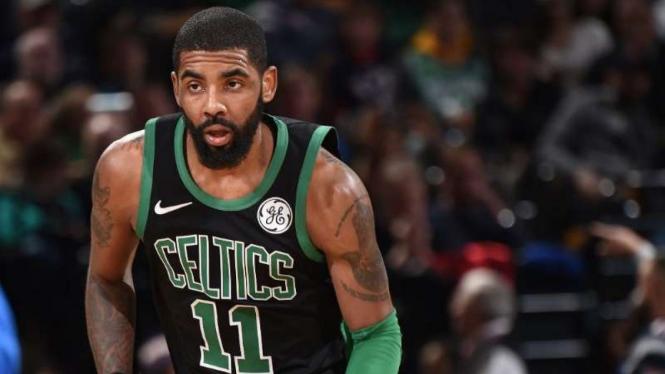 Pemain Boston Celtics, Kyrie Irving.