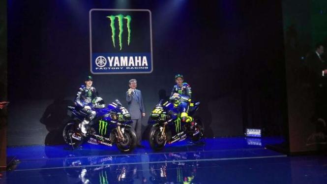 Acara pengenalan Monster Energy Yamaha MotoGP Team di Jakarta