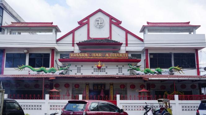 Vihara Dharma Bhakti di Peunayong, Banda Aceh.