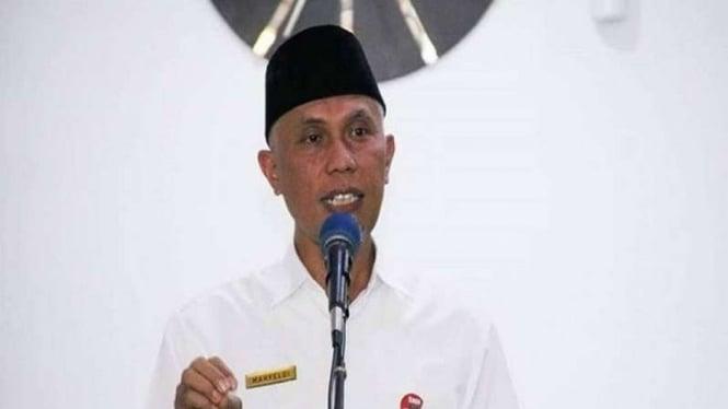 Cagub Sumbar sekaligus Wali Kota Padang Mahyeldi Ansharullah