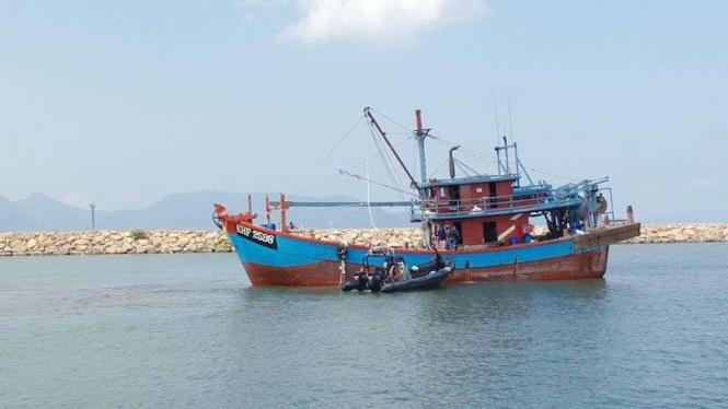 Kapal nelayan/ilustrasi.
