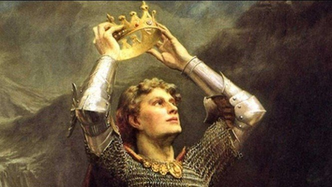 llustrasi legenda Raja Arthur.