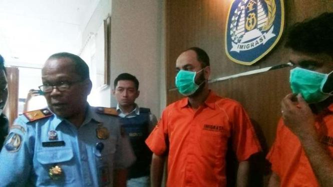 Imigrasi Bandara Soekarno Hatta menahan WNA berpaspor ilegal