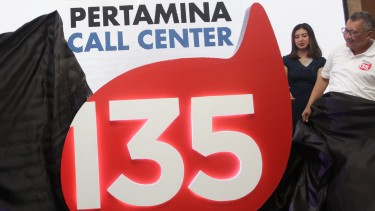 peluncuran pertamina call center 135 peluncuran pertamina call center 135