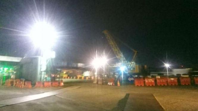 Jasa Marga pasang jembatan Jalan Tol Cengkareng Batu Ceper-Kunciran JORR II