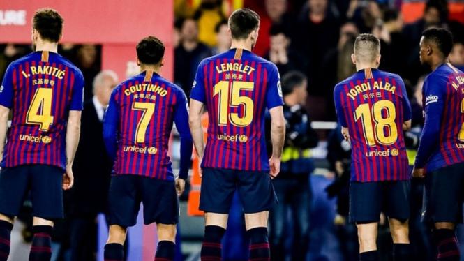 Bukti Jika Lyon Bukan Lawan Sebanding Barcelona