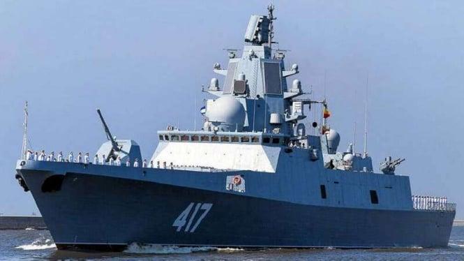 Kapal Fregat Admiral Gorshkov.
