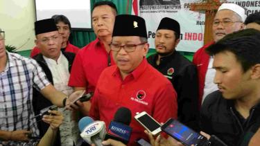 Sekjen PDIP Hasto Kristiyanto dan elite PDIP safari politik ke Jabar.