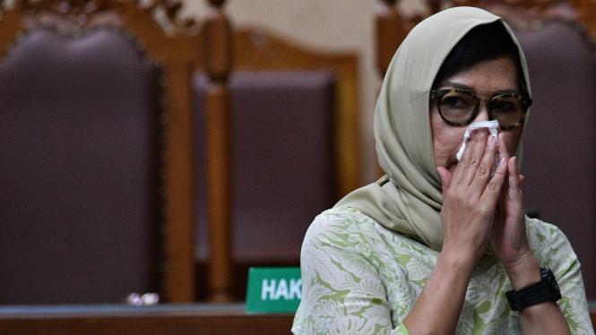 Mantan Dirut Pertamina Karen Agustiawan