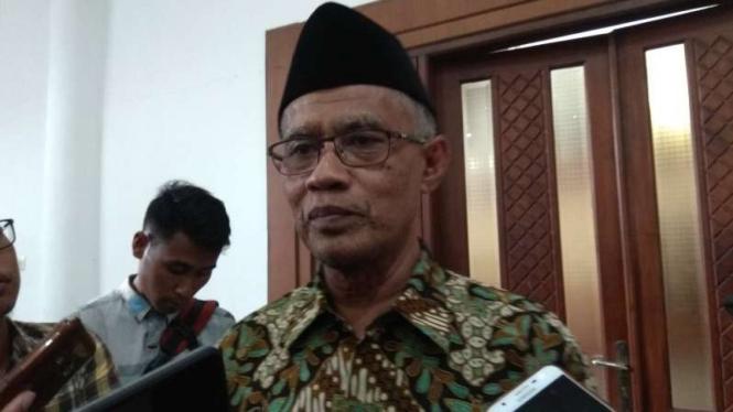 Ketua Umum Pengurus Pusat Muhammadiyah, Haedar Nashir.