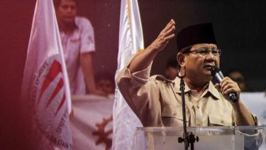 Calon Presiden nomor urut 02, Prabowo Subianto