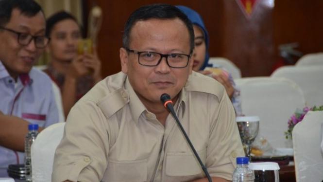 Menteri Kelautan dan Perikanan, Edhy Prabowo.