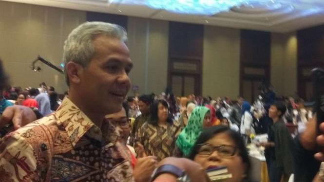 Gubernur Jawa Tengah Ganjar Pranowo di Jakarta, Jumat, 8 Februari 2019.