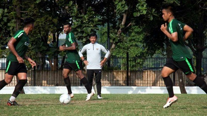 Sesi pemusatan latihan Timnas Indonesia U-22