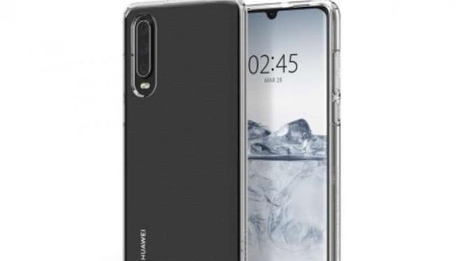 Bocoran tampilan belakang Huawei P30
