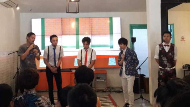 Artis-artis Jepang peduli Indonesia
