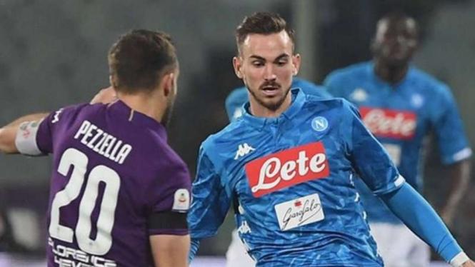 Pertandingan Serie A antara Fiorentina melawan Napoli