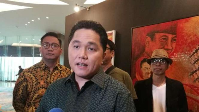 Ketua Umum Komite Olimpiade Indonesia (KOI), Erick Thohir.