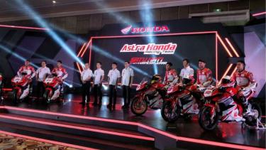 Peluncuran pembalap Astra Honda Racing Team (AHRT) di 2019