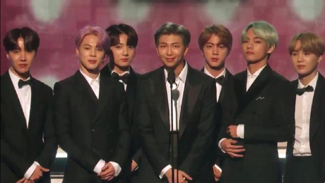 BTS di Grammy Awards 2019