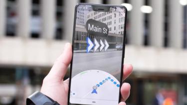Teknologi AR pada Google Maps