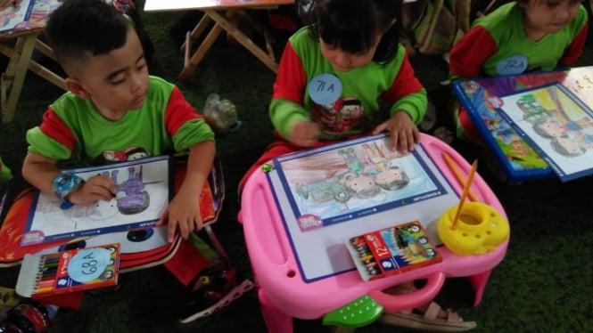 Manfaat Lomba Mewarnai Bagi Anak Usia Dini Viva