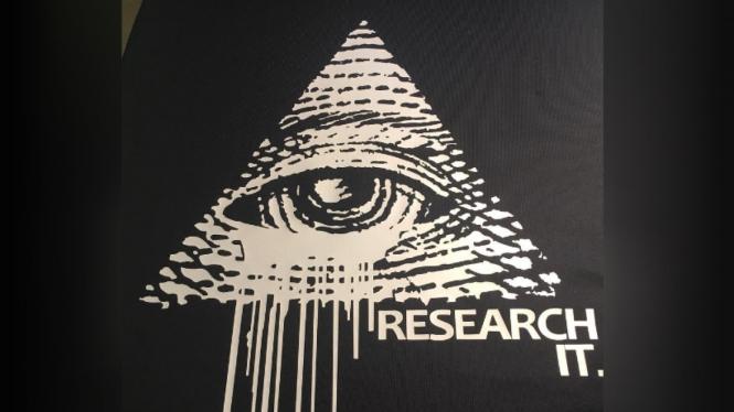 Ilustrasi teori konspirasi