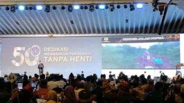 Jokowi di acara PHRI, Jakarta