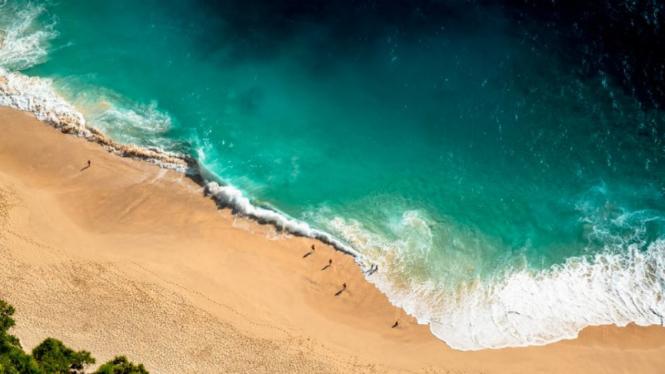 Pantai di Bali.
