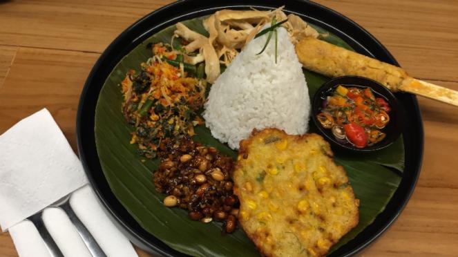 Nasi Bali Vegan, salah satu menu di RBOJ.