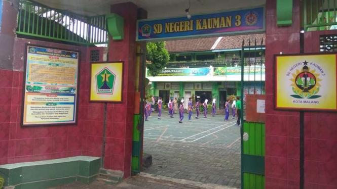 SDN Kauman 3, Kota Malang.