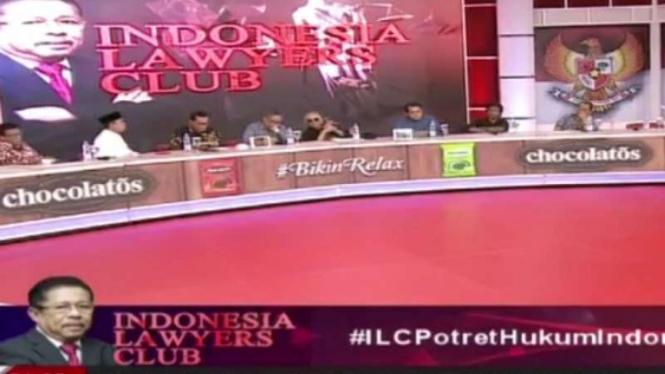 ILC bertopik soal Potret Hukum di Indonesia 2019