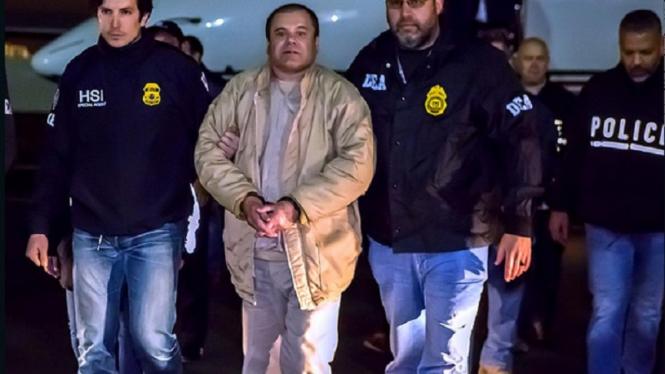 Kartel narkoba paling terkenal di dunia, Joaquin 'El Chapo' Guzman